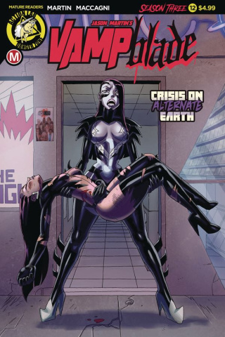 Vampblade, Season Three #12 (Young Cover)