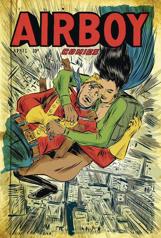 Airboy #51 (Kindt Cover)