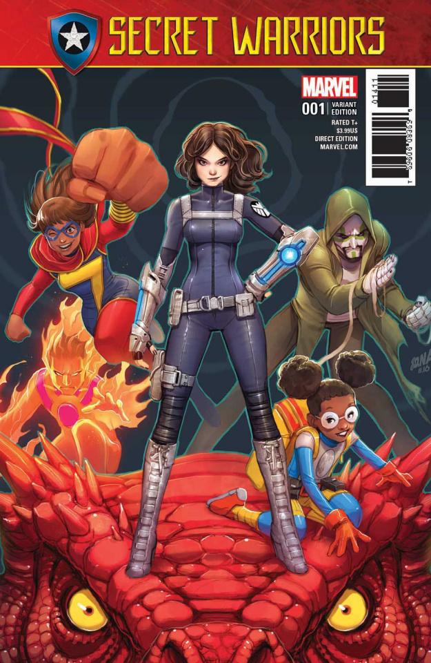 Secret Warriors #1 (Nakayama Cover)