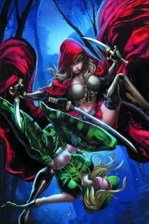 Grimm Fairy Tales: Robyn Hood vs. Red Riding Hood #1 (Salgado Cover)