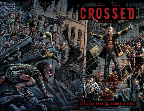 Crossed: Badlands #93 (Wrap Cover)