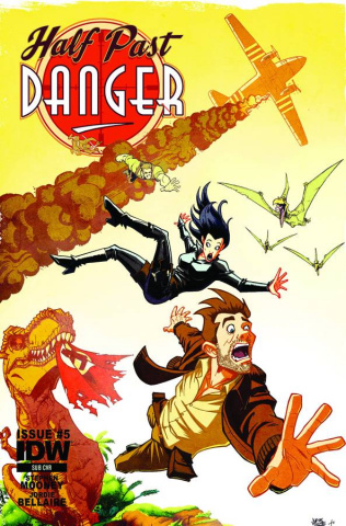 Half Past Danger #5 (Subscription Cover)