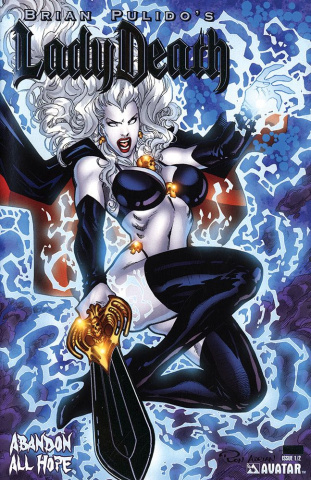 Lady Death: Abandon All Hope #1/2 (Platinum Foil Cover)