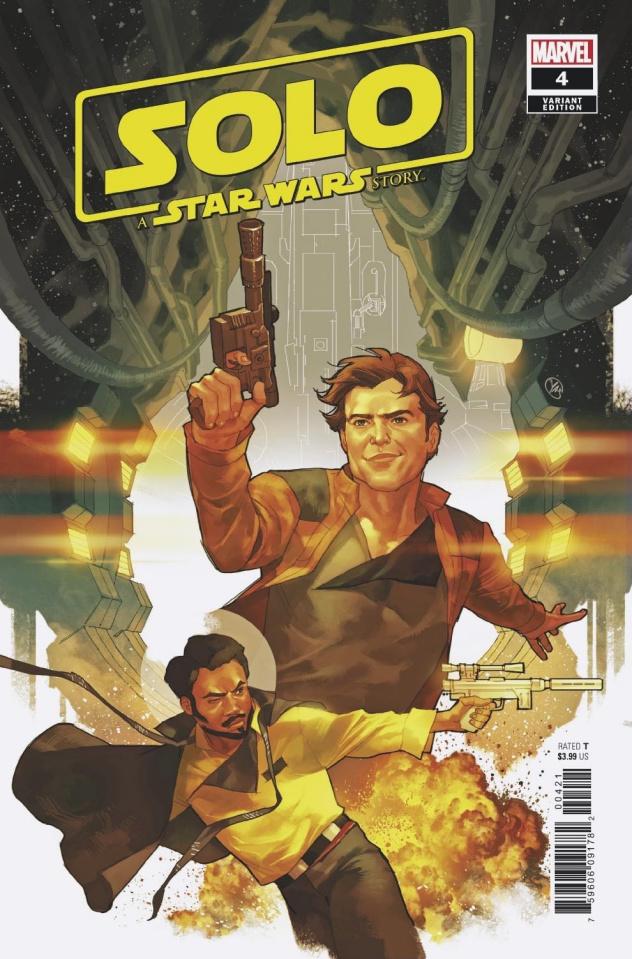 Star Wars: Solo #4 (Putri Cover)