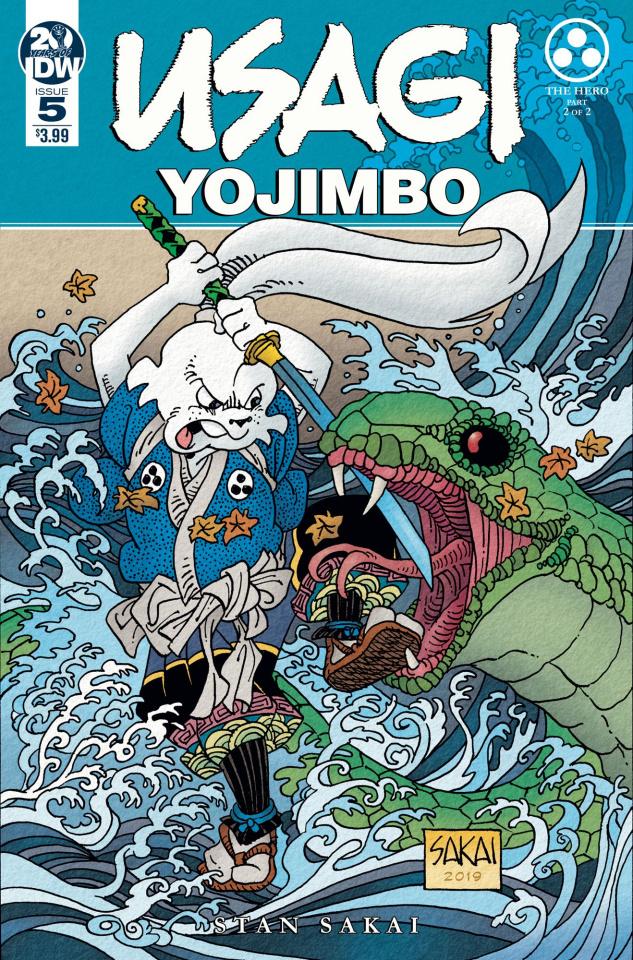 Usagi Yojimbo #5 (Sakai Cover)