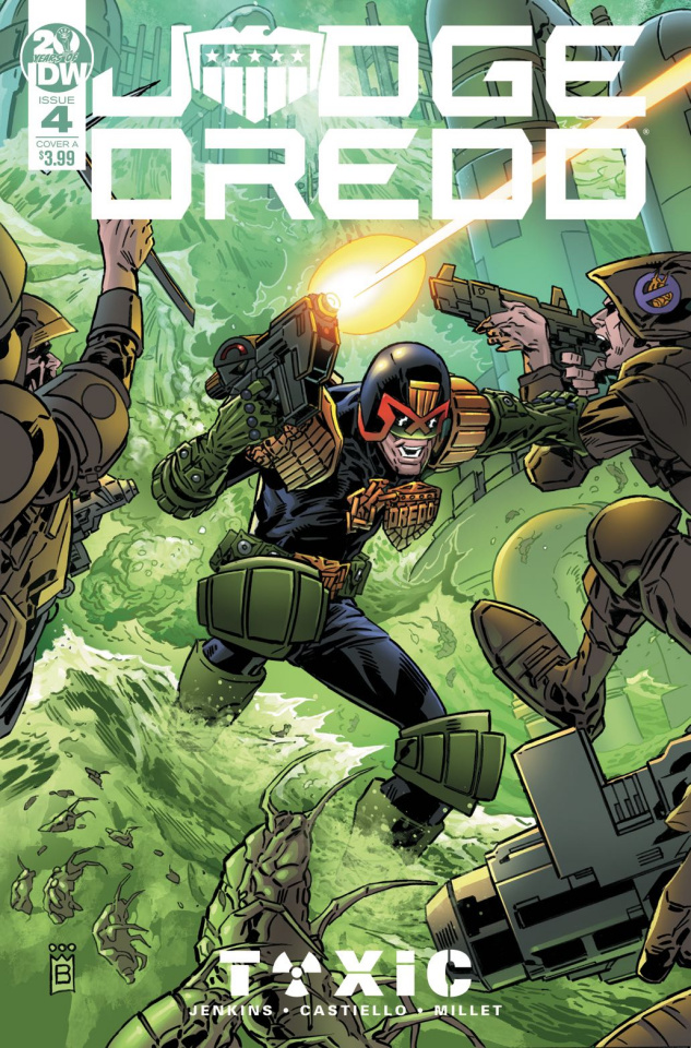Judge Dredd: Toxic #4 (Buckingham Cover)