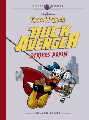 Disney Masters Vol. 8: Duck Avenger Strokes Again