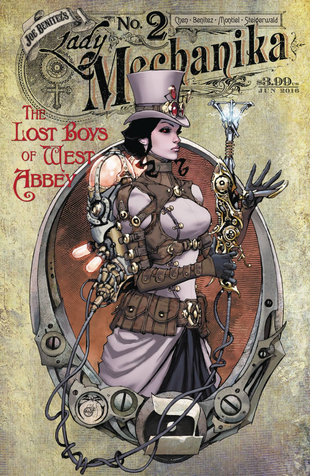 Lady Mechanika: The Lost Boys of West Abbey #2