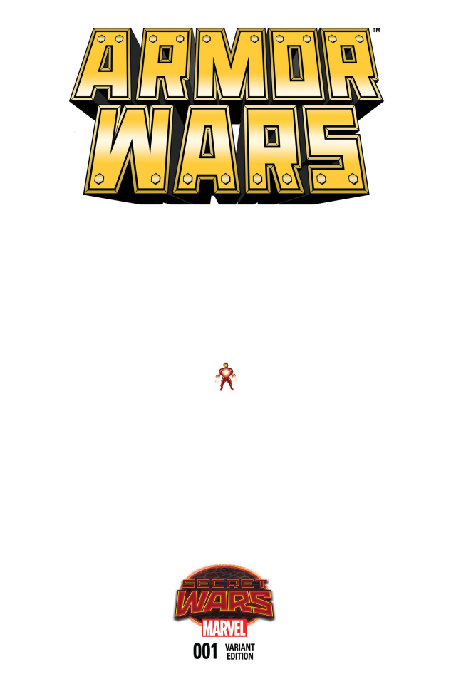 Armor Wars #1 (Ferry Ant-Sized Cover)