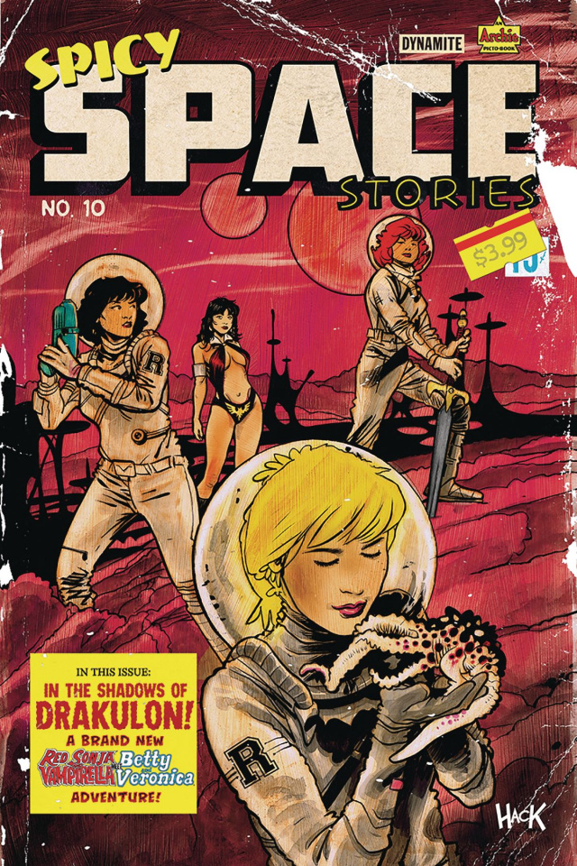 Red Sonja and Vampirella Meet Betty and Veronica #10 (Hack Cover)