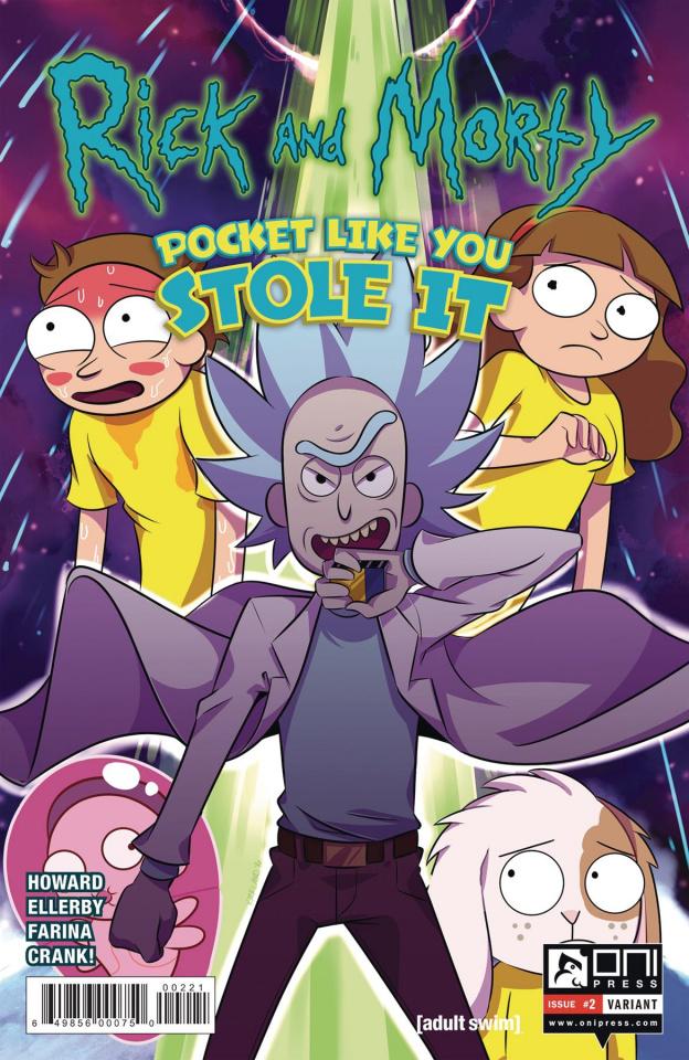 Rick and Morty: Pocket Like You Stole It #2 (Kirkland Cover)
