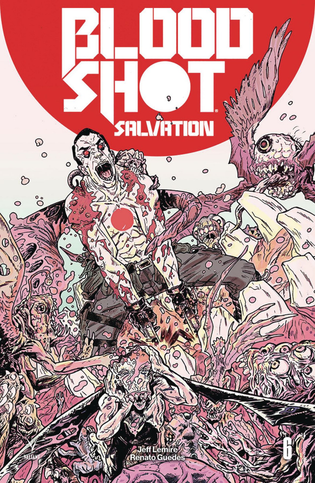 Bloodshot: Salvation #6 (Bivens Cover)
