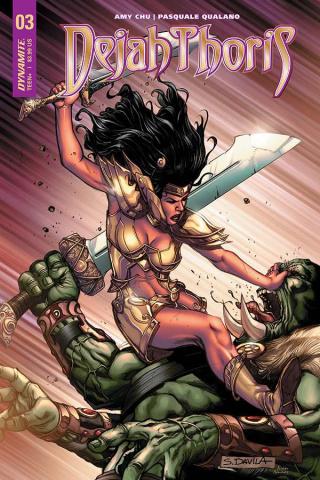 Dejah Thoris #3 (Davila Cover)