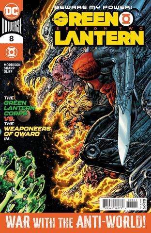 Green Lantern, Season 2 #8 (Liam Sharp Cover)