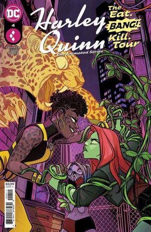 Harley Quinn: The Animated Series - The Eat, Bang, Kill Tour #4 (Max Sarin Cover)