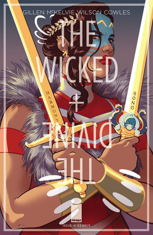 The Wicked + The Divine #41 (Ganucheau Cover)