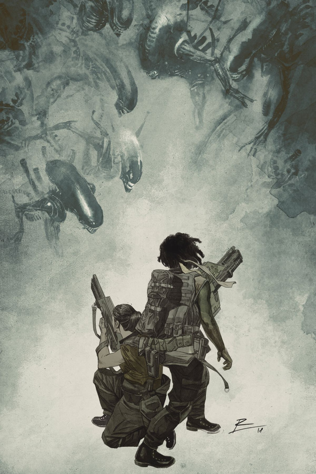 Aliens: Resistance #4 (De La Torre Cover)
