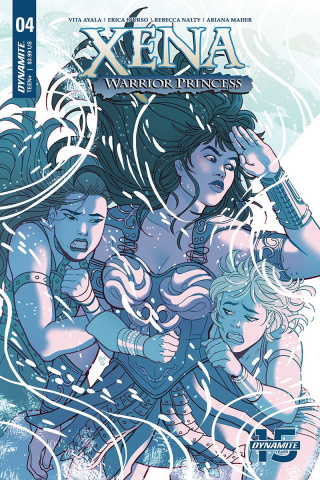 Xena: Warrior Princess #4 (Ganucheau Cover)