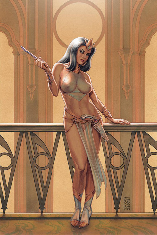 Dejah Thoris #9 (Linsner Virgin Cover)