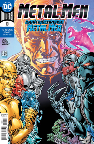 Metal Men #10 (Shane Davis Cover)
