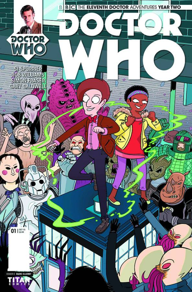 Doctor Who: New Adventures with the Eleventh Doctor, Year Two #1 (10 Copy Cover)