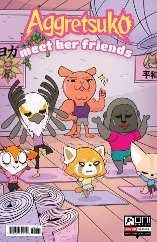 Aggretsuko: Meet Her Friends #1 (Dubois Cover)