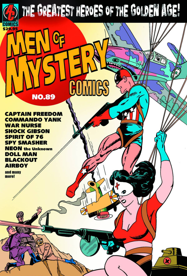 Men of Mystery #89