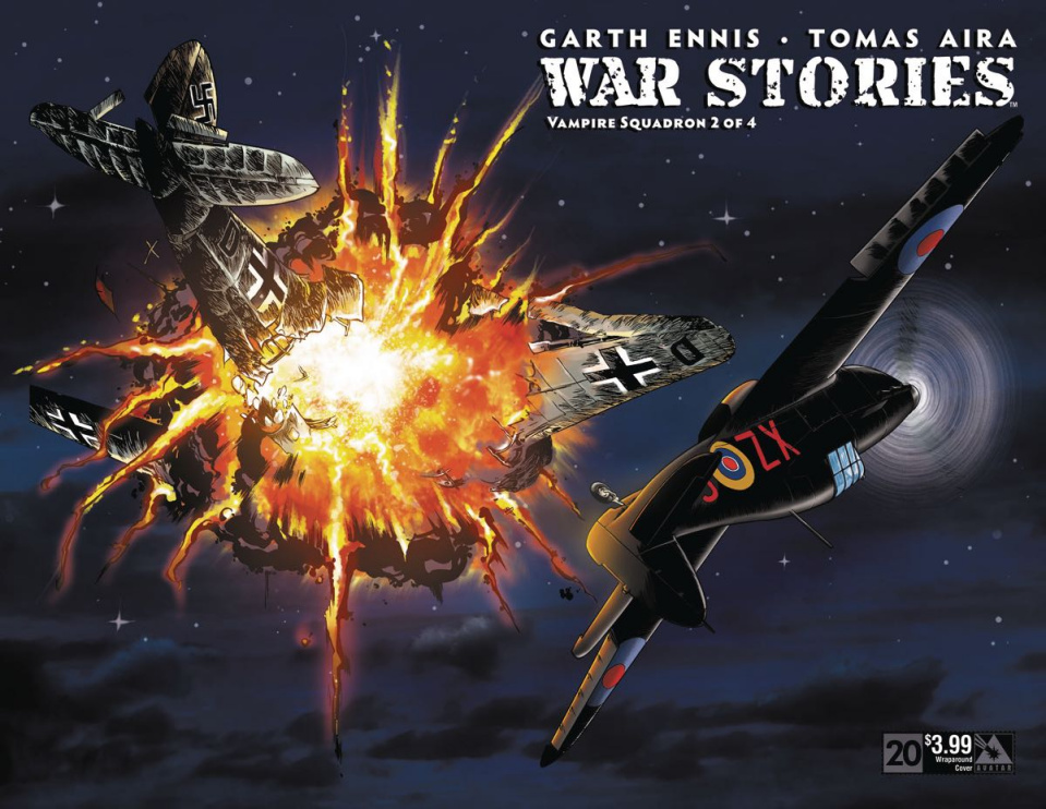 War Stories #20 (Wrap Cover)