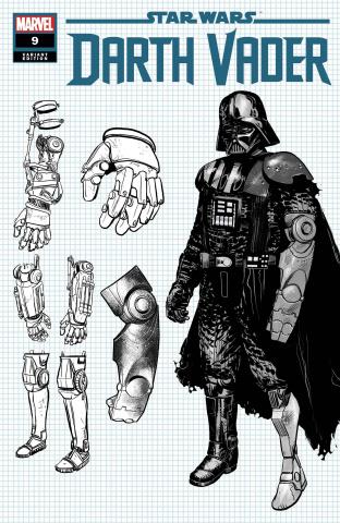 Star Wars: Darth Vader #9 (Ienco Design Cover)