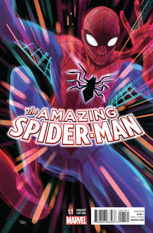 The Amazing Spider-Man #1.1 (Rodriguez Cover)