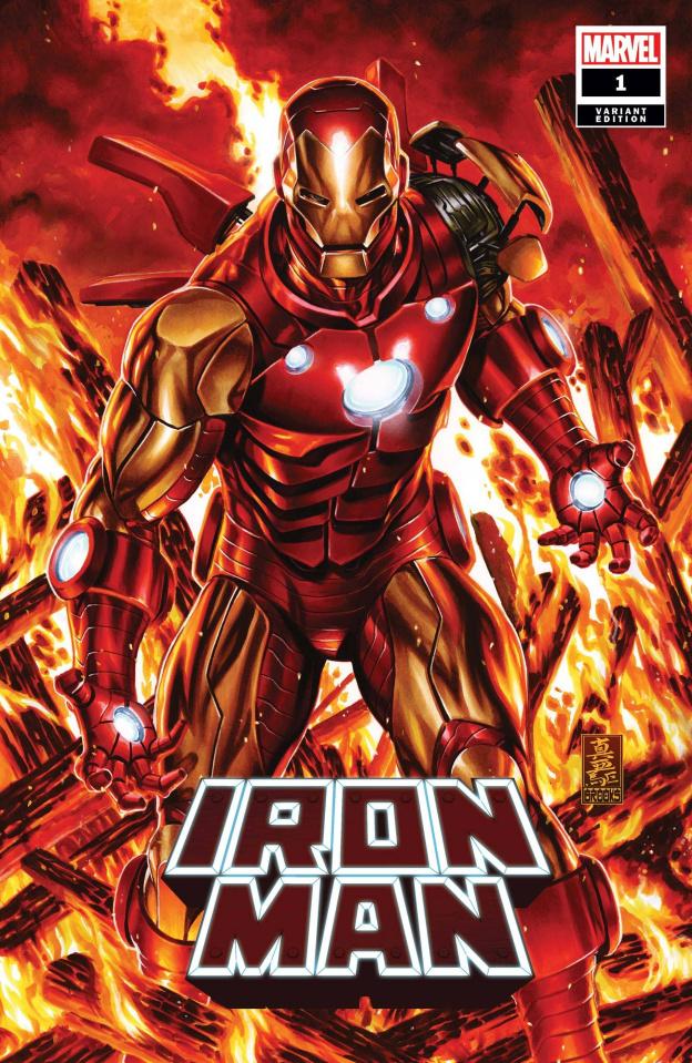 Iron Man #1 (Brooks Cover)