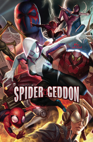 Spider-Geddon #3 (In Hyuk Lee Connecting Cover)