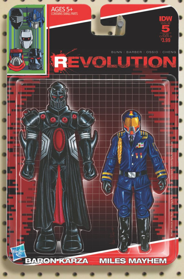 Revolution #5 (Subscription Cover)