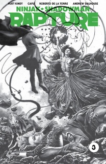 Rapture #3 (50 Copy B/W Sketch Suayan Cover)