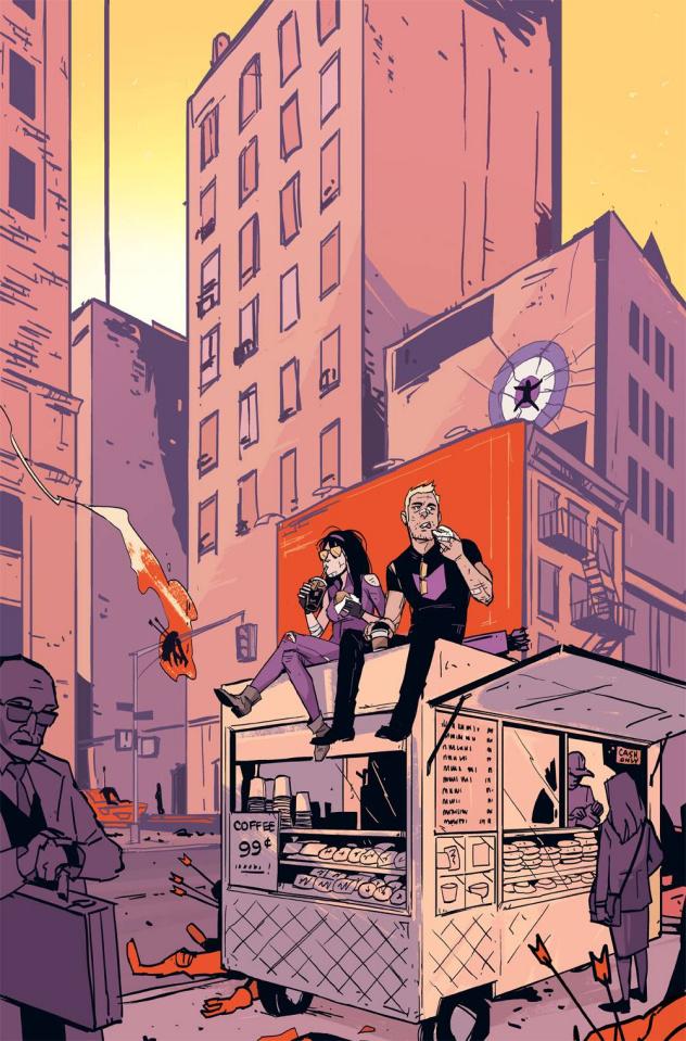 All-New Hawkeye #3 (Wu Cover)