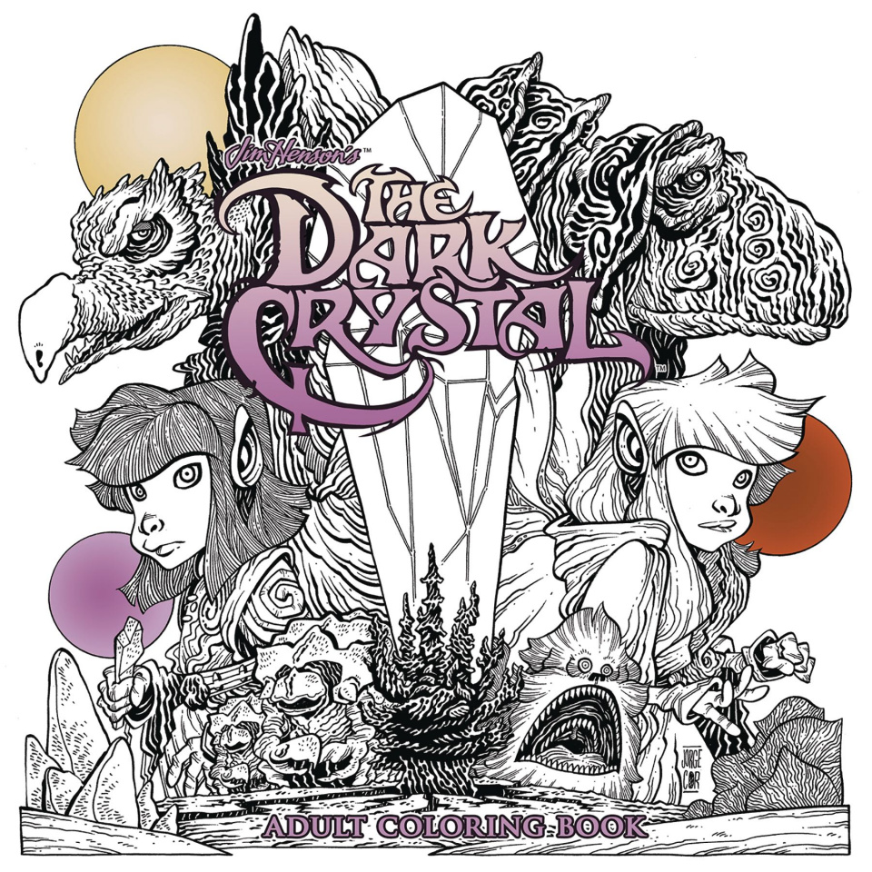 The Dark Crystal Adult Coloring Book