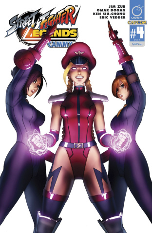 Street Fighter Legends: Cammy #4 (Dogan Cover)