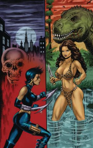 Cavewoman: Razor's Run #1 (Parsons Cover)