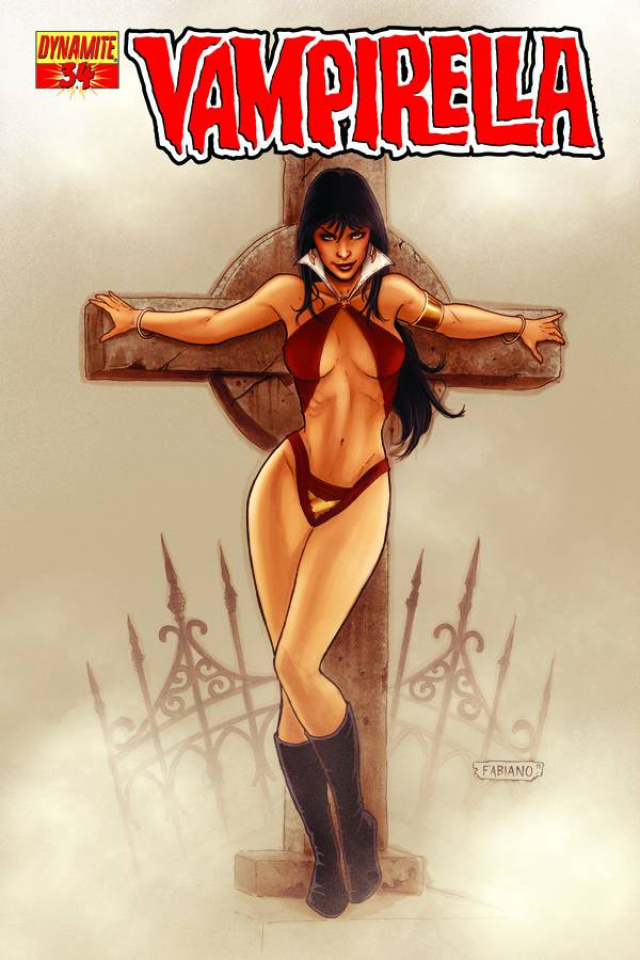 Vampirella #34 (Neves Cover)