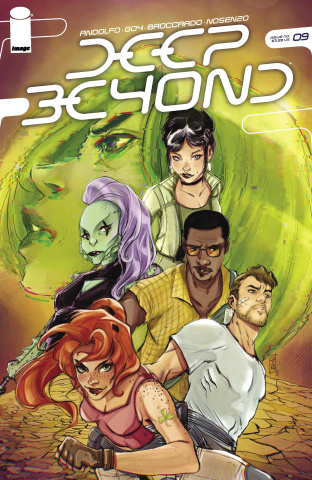 Deep Beyond #9 (Lavina Cover)