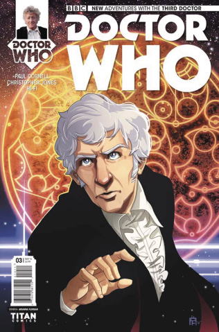 Doctor Who: New Adventures with the Third Doctor #3 (Florean Cover)