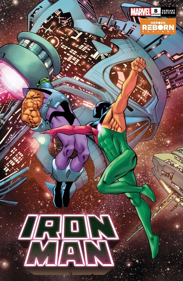 Iron Man #8 (Pacheco Reborn Cover)