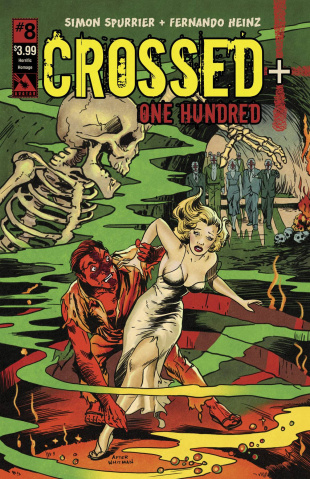 Crossed + One Hundred #8 (Horrific Homage Cover)