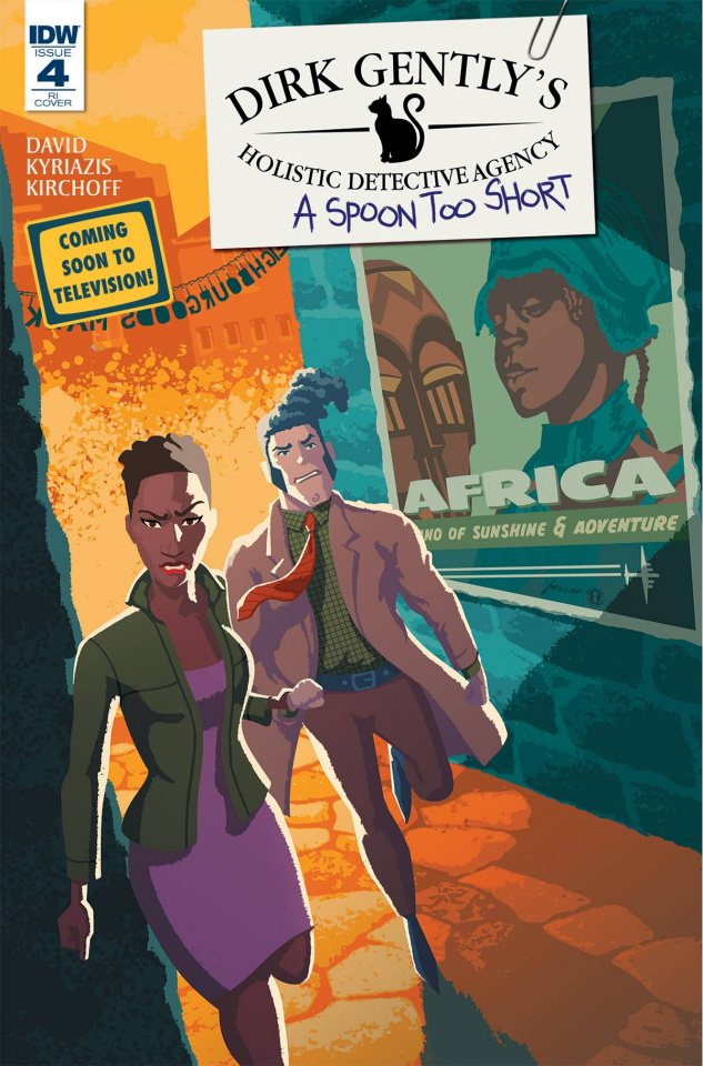 Dirk Gently's Holistic Detective Agency: A Spoon Too Short #4 (10 Copy Cover)