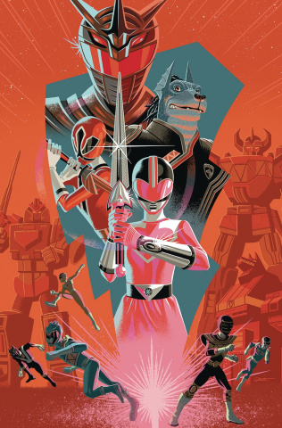 Mighty Morphin' Power Rangers 2018 Annual #1 (10 Copy Cover)