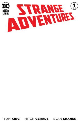 Strange Adventures #1 (Blank Cover)
