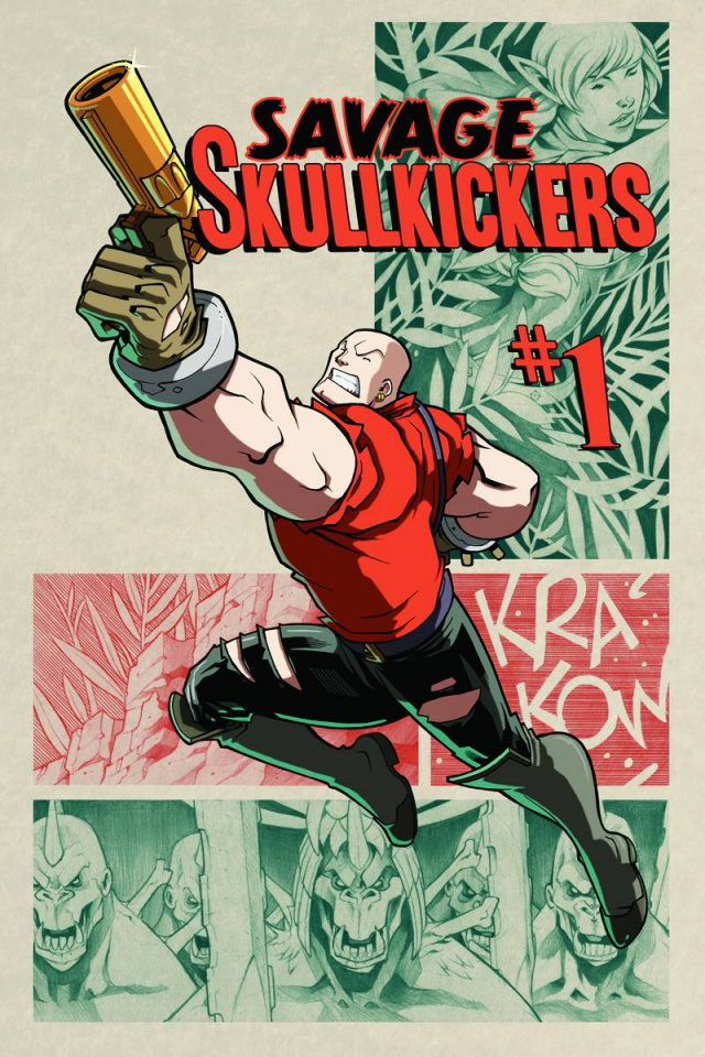 The Savage Skullkickers #1 (Huang & Zub Cover)