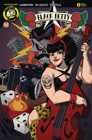 Black Betty #3 (Trom Tattered & Torn Cover)
