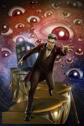 Doctor Who: Ghost Stories #4 (Centurion Cover)