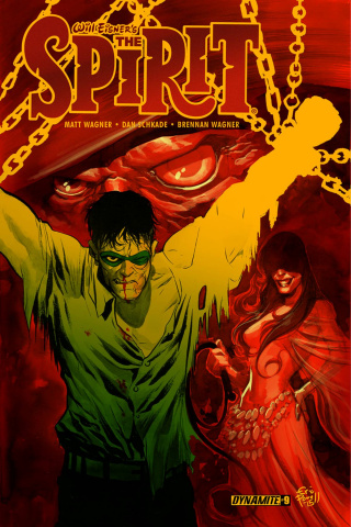 The Spirit #9 (Powell Cover)
